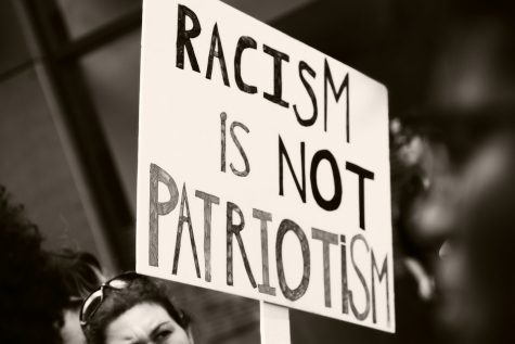 Hate Protest Sign Society Patriotism Love Racism